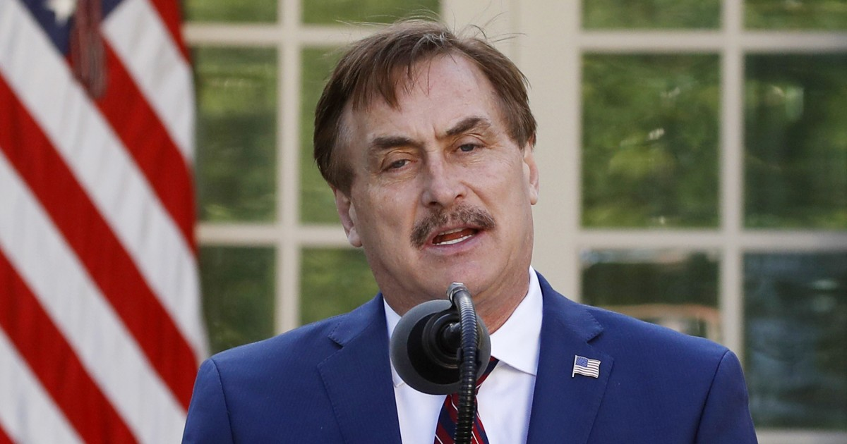 My Pillow CEO Mike Lindell advised Trump to stay 'positive ...