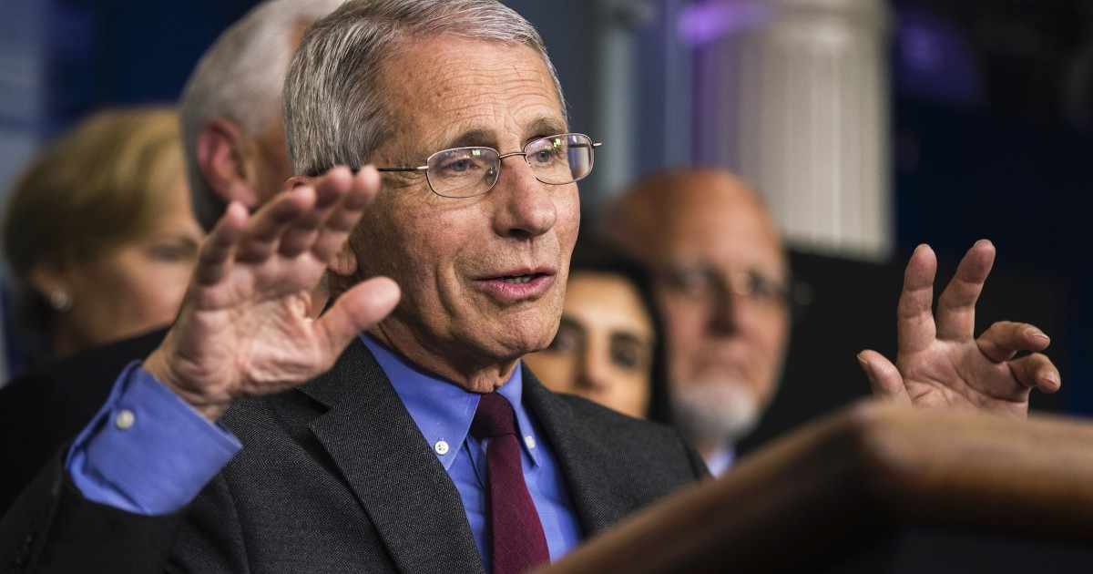 Anthony Fauci says he was 'absolutely not' surprised Trump ...
